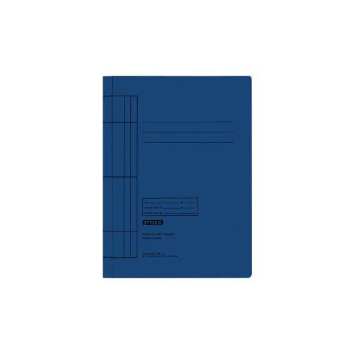 STYLEX Schreibwaren GmbH STYLEX® Manila Schnellhefter, Farbige Mappe für die Schule, 1 Packung = 25 Stück, Farbe: blau