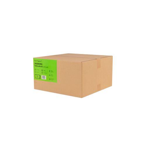 Huchtemeier Papier GmbH Green Hygiene® INGEBORG Falthandtücher, 2-lagig, N-Falz Handtuchpapier aus 100% recyceltem Papier, 1 Karton = 15 Packungen à 200 Tücher