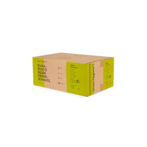 Huchtemeier Papier GmbH Green Hygiene® FRIEDA Falthandtücher, 2-lagig, N-Falz Handtuchpapier aus 100% recyceltem Papier, 1 Karton = 20 Packungen à 200 Tücher