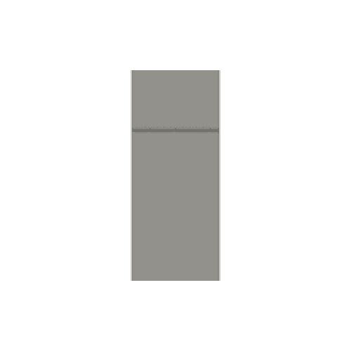 Duni GmbH & Co. KG DUNI Duniletto Bestecktasche, Die Premium-Serviette und Bestecktasche in einem, 1 Karton = 4 Beutel à 46 Stück, Farbe: grau