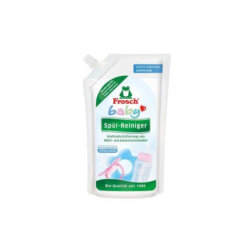 Rex Frosch Baby Spül-Reiniger, Speziell für Babygeschirr und Spielzeug, 500 ml - Nachfüllbeutel