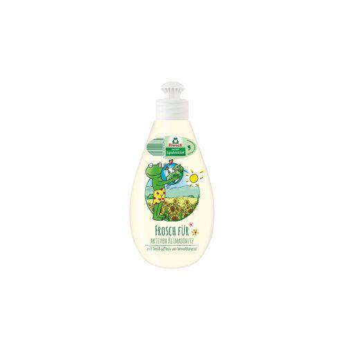 Rex Frosch Spülmittel Deko Sensitiv, Kraftvolles und fettlösendes Handspülmittel, 400 ml - Dekoflasche