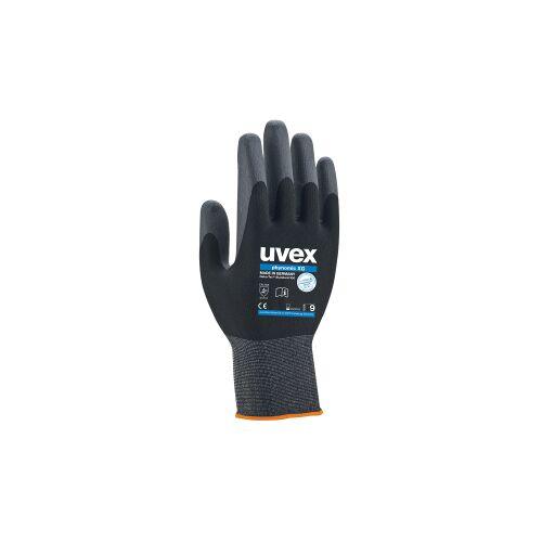 UVEX Arbeitsschutz GmbH uvex phynomic XG Schutzhandschuh, Extrem robuster und flexibler Arbeitsschutzhandschuh, 1 Packung  = 10 Paar, Größe: 9