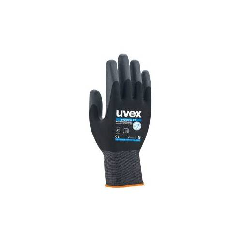 UVEX Arbeitsschutz GmbH uvex phynomic XG Schutzhandschuh, Extrem robuster und flexibler Arbeitsschutzhandschuh, 1 Packung  = 10 Paar, Größe: 11
