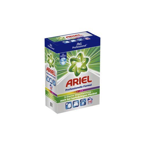 Procter & Gamble Service GmbH P&G Professional Ariel Colorwaschmittel Pulver, Professionelles Waschpulver für eine ausgezeichnete Tiefenreinigung, 7,15 kg – 110 Waschladungen
