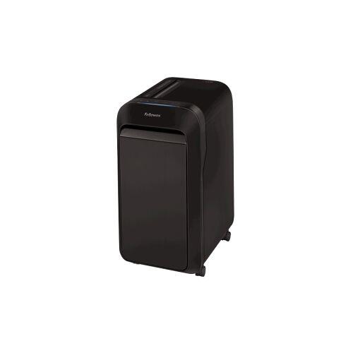 Fellowes Papierschredder Powershred LX220 Mini-Cut, 30 Liter, Produktiver Büro-Schredder mit responsiver Intellibar™ Technologie, Maße (H x B x T): 59,06 x 43,20 x 29 cm