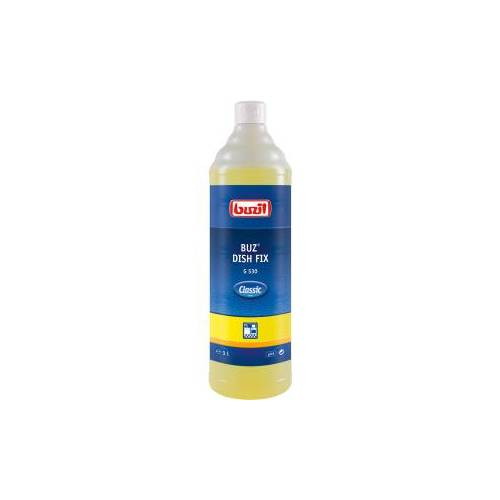 Buzil GmbH & Co. KG Buzil Spülmittel Buz® Dish Fix G 530 , Neutrales Handgeschirrspülmittel mit angenehmen Duft, 1 Liter - Flasche