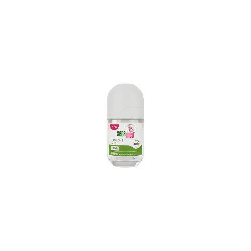 sebamed® Deo Roll-On FRISCHE DEO, 50 ml, Deodorant ohne Aluminiumsalze, 1 Flasche = 50 ml, herb
