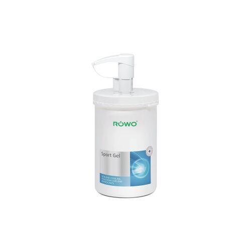 Sporto-med. GmbH RÖWO® Sport-Gel, entzündungshemmend, lindert Schmerzen, 1000 ml - Dose inklusive Pumpspender
