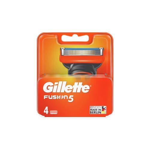 Procter & Gamble Service GmbH Gillette Rasierklingen Fusion 5, Rasierklinge für eine gründliche und klassische Rasur, 1 Packung = 4 Stück