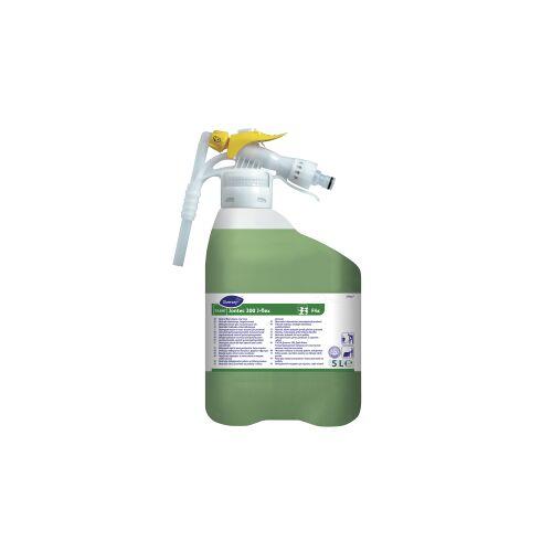 Diversey Deutschland GmbH & Co. OHG TASKI Jontec 300 J-Flex Bodenreiniger, Neutraler niedrigschäumender Fußbodenreiniger, 1,5 l - J-Flex-Flasche mit Gardena-Anschluss