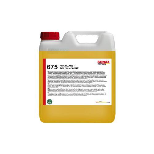 Sonax GmbH SONAX Politur Foamcare Polish & Shine, Schäumende Reinigungs- und Pflegepolitur mit natürlichem Carnaubawachs, 10 Liter - Kanister