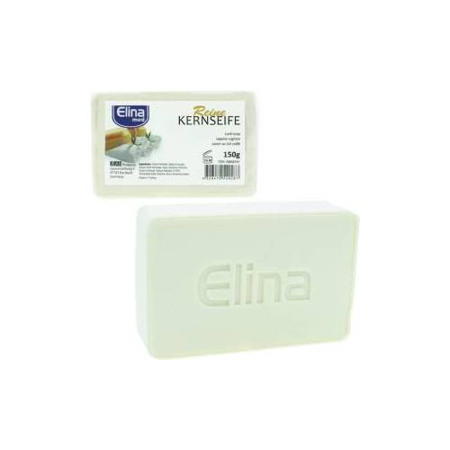 Jean Products - Werm GmbH ELINA reine Kernseife med, 150g, Seifenstück mit angenehmem Duft, 1 Stück