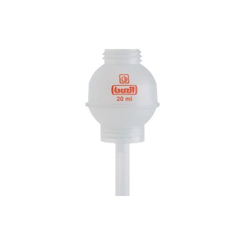 Buzil GmbH & Co. KG Buzil Dosierkugeln, transparent, für 1000 ml - Buzil-Flaschen, H 623 Dosierkugel 20 ml