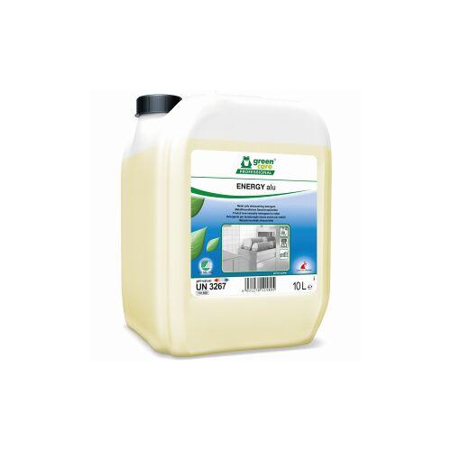Tana Chemie GmbH TANA green care ENERGY alu Geschirrreiniger, Konzentrierter Geschirrreiniger mit Bunt - und Leichtmetallschutz, 10 l - Kanister