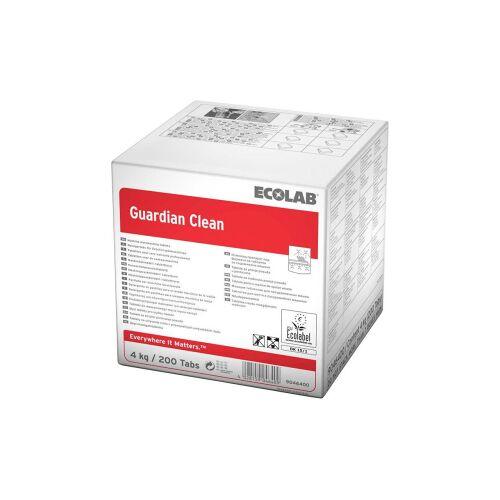 Ecolab GmbH & Co. OHG ECOLAB Guardian Clean Spülmaschinen-Tabs, Ökologische Geschirr-Reinigung und Schutz gegen Glaskorrosion, 1 Karton = 200 Tabs à 20 g = 4 kg