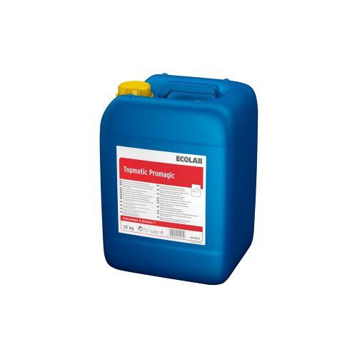 Ecolab GmbH & Co. OHG ECOLAB Topmatic Promagic Spülmittel, Geschirrspülmittel zum Schutz von Aluminium, 12 kg - Kanister