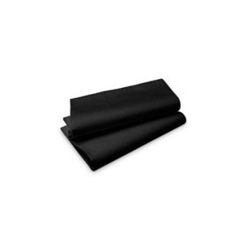 Duni GmbH & Co. KG DUNI Tischdecke Evolin®, Praktische Tischunterleger, Farbe: schwarz, 1 Karton = 50 Tischdecken