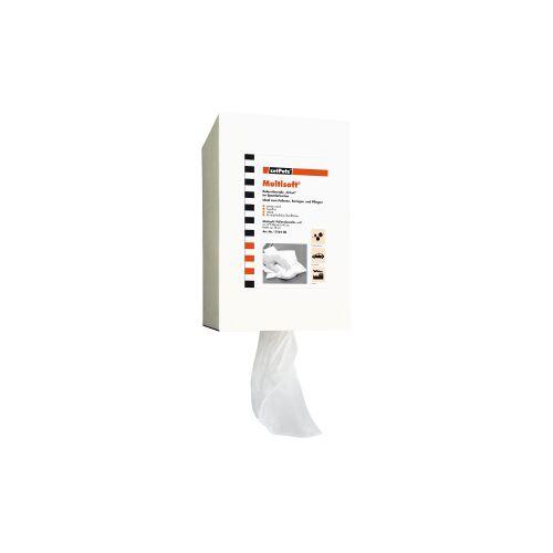ZVG Zellstoff-Vertriebs-GmbH & Co. KG zetPutz Poliertuchrolle Multisoft®, weiss, 1 Spenderkarton = 375 Abrisse á 40 cm/38 cm breit, 1 Palette = 60 Kartons = 60 Rollen