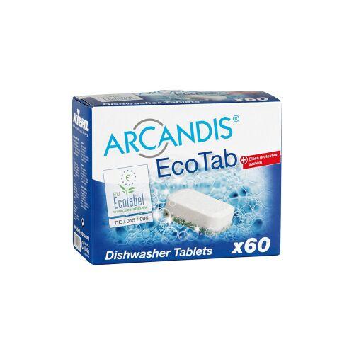 Kiehl-Unternehmens-Gruppe Kiehl ARCANDIS®-Eco Tab Geschirrspültabs, Geschirrspültabs für Haushaltsspülmaschinen, 1 Paket = 60 Stück