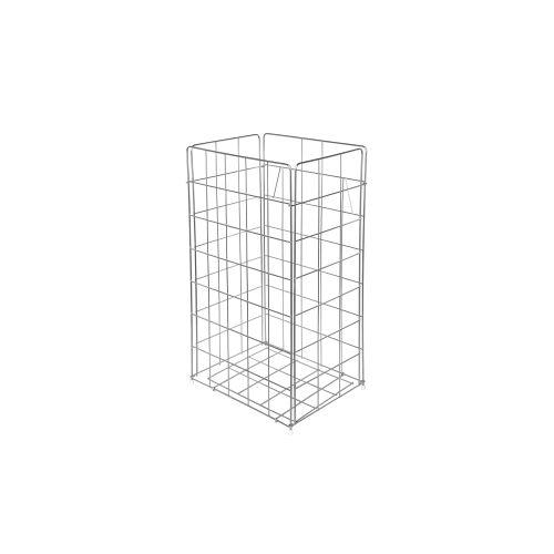 TEMCA GmbH & Co. KG. racon® Papierkorb x-waste, ca. 54 Liter, Gitterkorb aus Metall, H 640 mm, B 330 mm, T 255 mm
