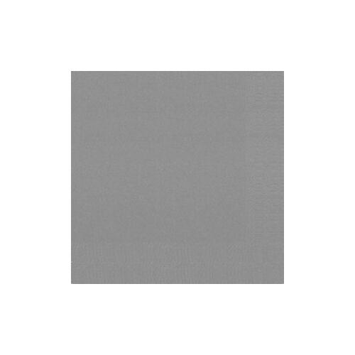 Duni GmbH & Co. KG DUNI Servietten, 3-lagig, Mundtuch aus 100 % Zellstoff, granite grey, 1 Karton = 8 x 250 Stück = 2000 Servietten