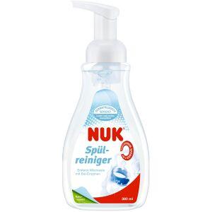NUK Spülreiniger, Spülreiniger mit Direktschaum-Spender, 380 ml - Flasche