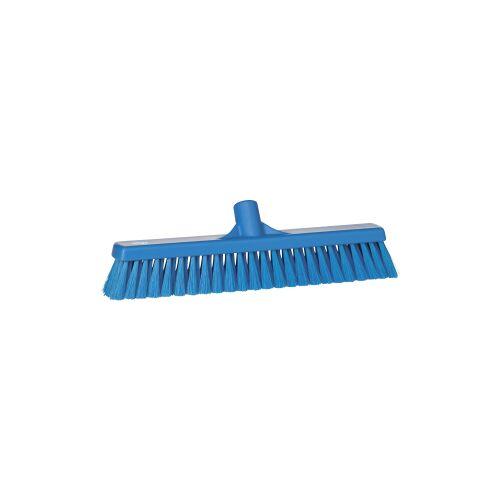 Vikan GmbH Vikan Besen, 410 mm, weich, Spezialbesen für die Entfernung loser Verschmutzungen aller Art, Farbe: blau