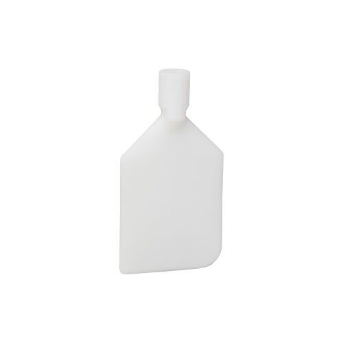 Vikan GmbH Vikan Rührlöffelblatt, 220 mm, Schaber für das Entleeren von Behältern und Töpfen, Material: Nylon, weiß