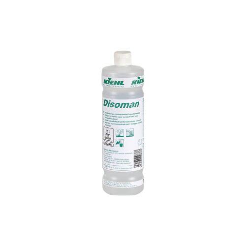 Kiehl-Unternehmens-Gruppe Kiehl Disoman Handspülmittel Superkonzentrat, Hochleistungs-Handspülmittel Superkonzentrat, 1000 ml - Flasche
