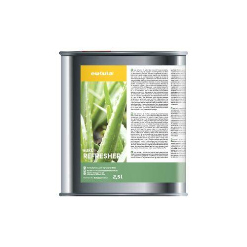 eukula® euku Refresher Nachimprägnierung, Auffrischung oxidativ imprägniert-geölter Holz- und Parkettfußböden, 2,5l - Kanister
