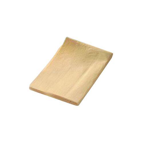 Gelochtes Kunstledertuch, Farbe: gelb, 40 x 35 cm, Uretan, 1 Fenster-/Leder-/Poliertuch
