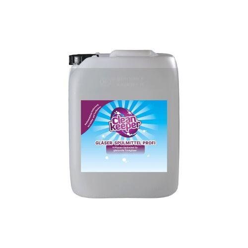 Cleankeeper Gläser-Spülmittel Profi, Professionelles Gläserspülmittel für alle Arten von Gläsern, 12 kg - Kanister
