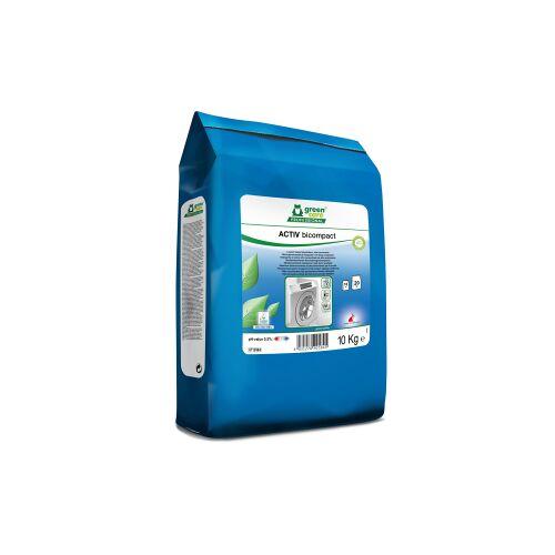 Tana Chemie GmbH TANA green care ACTIV bicompact Waschpulver, Hochkonzentriertes Hochleistungswaschpulver, 10 kg - Nachfüllpackung