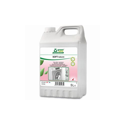 Tana Chemie GmbH TANA green care SOFT nature Weichspüler, Hypoallergener Weichspüler mit Frischeduft, 5 l - Kanister