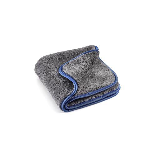 MEGA Clean Professional GmbH MEGA Clean Professional MEGA Flausch Plus Mikrofasertuch, Ideal für die Autopflege, 40 x 40 cm, 1200 g/qm, 1 Stück, Farbe: grau / blau
