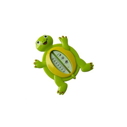 reer GmbH reer Schildkröte Badethermometer, Kunststoff Badewasserthermometer für die optimale Wassertemperatur, 1 Stück