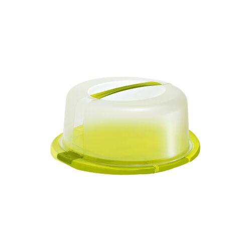 Rotho Kunststoff AG Rotho COOL & FRESH Tortenglocke, Mit Kühlkisseneinlage , Farbe: lime grün