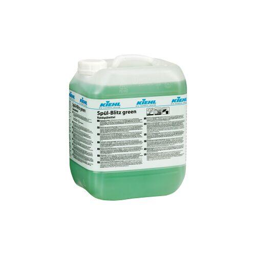 Kiehl-Unternehmens-Gruppe Kiehl Spül-Blitz green Geschirrreiniger, Fettlösender Geschirrreiniger auf Basis nachwachsender Rohstoffe, 10 l - Kanister