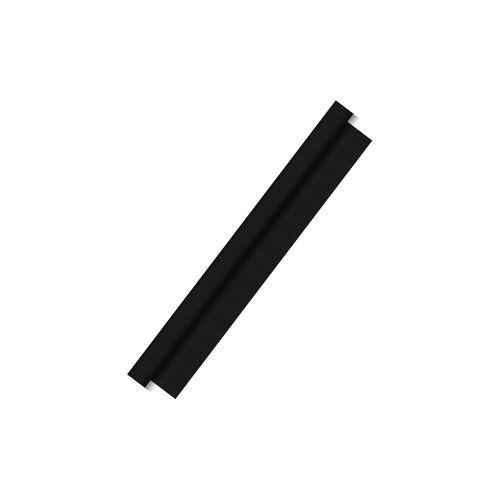 Duni GmbH & Co. KG DUNI Dunitex Tischdeckenrolle, Abwischbares Tischtuch, Farbe: schwarz, 1 Karton = 1 Rolle