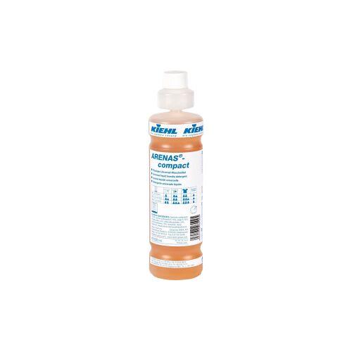 Kiehl-Unternehmens-Gruppe Kiehl ARENAS®-compact Universal-Waschmittel, Phosphatfreies, enzymhaltiges Waschmittel mit ausgezeichneter Waschleistung, 1000 ml - Flasche (1 Karton = 6 Flaschen)