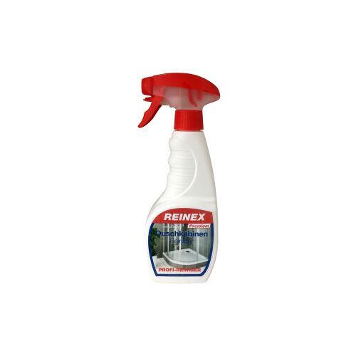 Reinex Chemie GmbH Reinex Premium Duschkabinen Reiniger, Reinigt schnell und wirkungsvoll Kalk- und Seifenreste, 500 ml - Sprühflasche