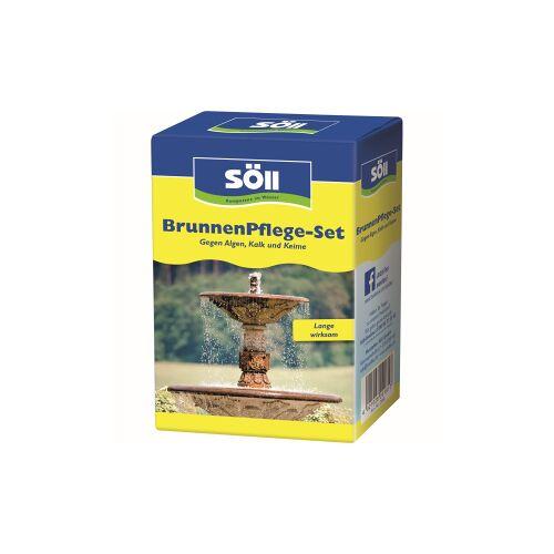 Söll GmbH Söll Brunnen Pflege-Set, Für perlfrisches, hygienisch sauberes Brunnenwasser, Bestehend aus: BrunnenDesinfektion 250 & SpringbrunnenKlar 250 ml