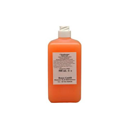Cleankeeper Milde Seifencreme, 500 ml - Flasche -Euro-, altrosa, Zitronenduft