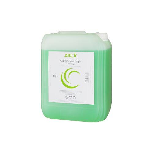 ZACK Allzweckreiniger, Zitrone, Ein kraftvoller Flächenreiniger mit Zitronenfrische, 10 l - Kanister