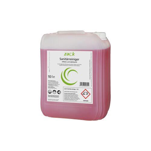 ZACK Sanitärreiniger, Für säurefeste Oberflächen, 10 l - Kanister