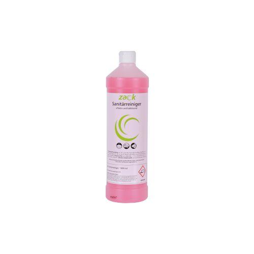 ZACK Sanitärreiniger, Für säurefeste Oberflächen, 1 Karton = 12 Flaschen á 1000 ml