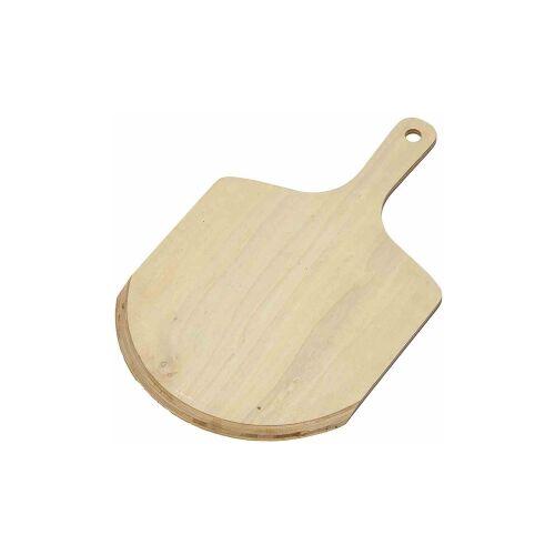 Westmark GmbH WESTMARK Pizzaschieber aus Holz, Idealer Helfer, um Pizza oder Brot sicher auf einem Pizzastein zu backen, Maße: 45,5 x 29,5 x 8 cm