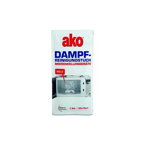 DELU-AKO-MINKY GmbH ako® Dampfreinigungstuch für Mikrowellen, Dampfreinigungs Sachet zur schnellen und leichten Reinigung für Backöfen, 1 Packung = 3 Stück