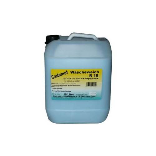 Reinex Chemie GmbH Cado mat Wäscheweich, Weichspüler mit Pflegegarantie, 10 l - Kanister